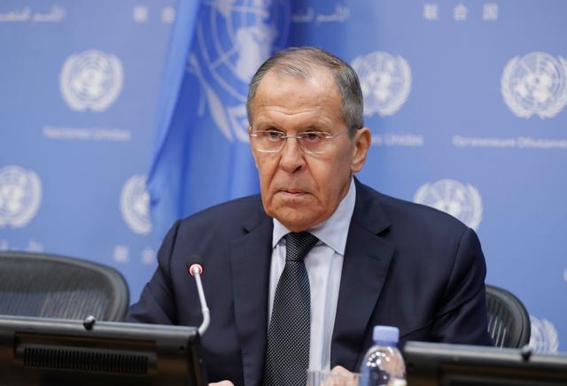 俄罗斯外长拉夫罗夫。图自IC photo