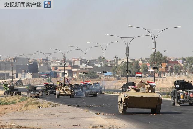 伊拉克西部清剿极端组织残余 摧毁数十具爆炸装置
