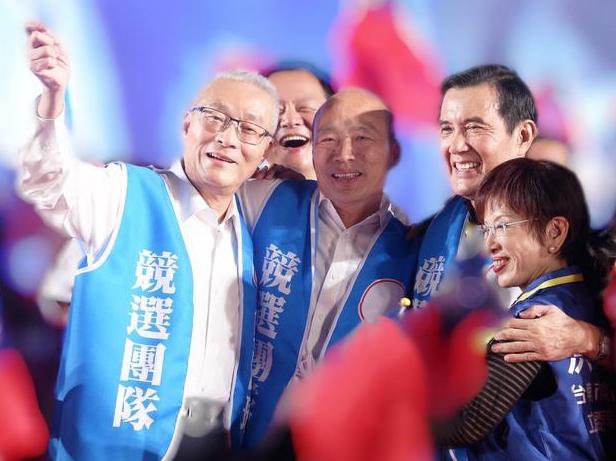 """马英九:韩国瑜支持""""九二共识"""" 让民进党下台"""