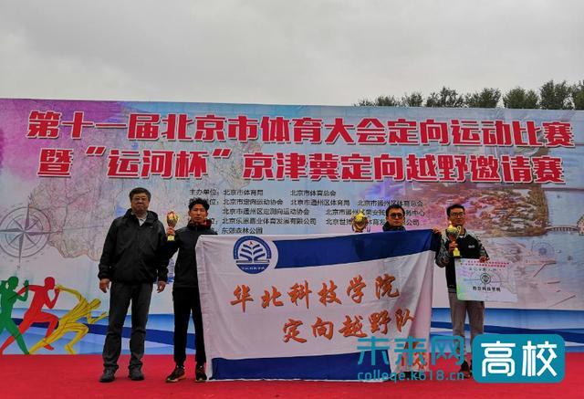 华北科技学院定向越野队队在北京市体育大会定向运动比赛获佳绩