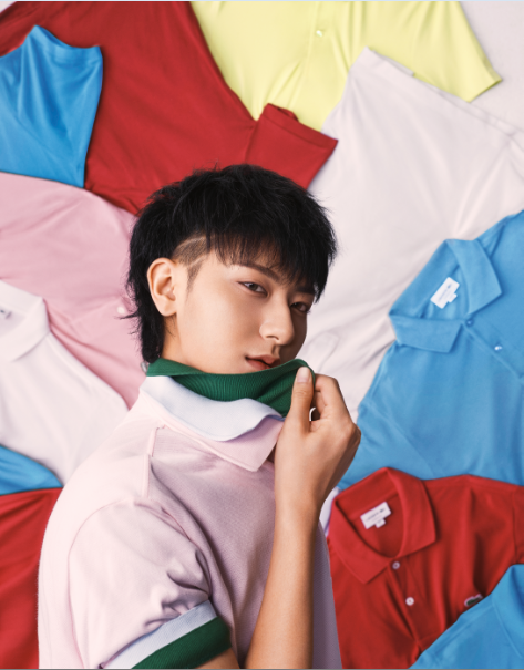 LACOSTE宣布黄子韬成为首位亚太区品牌代言人