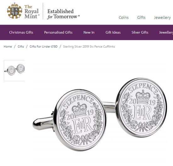 图片滥觞:英国皇家铸币局民网截图。