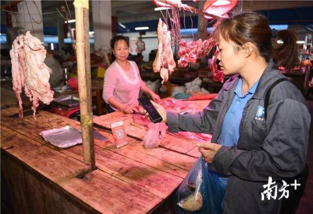 新会梅阁:肉价不再任人宰,市场有序环境佳