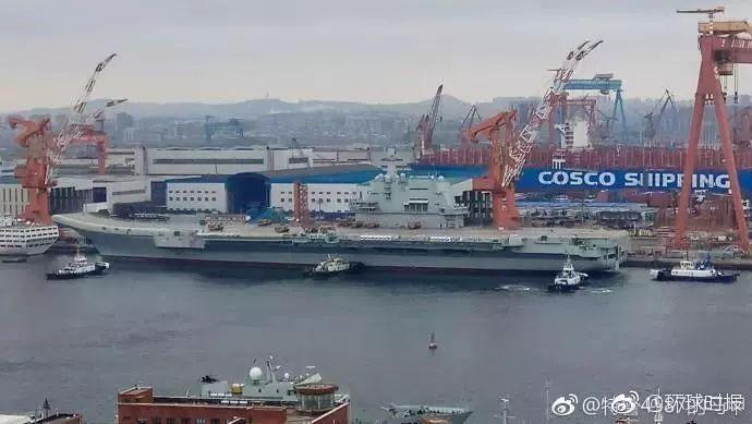 中国首艘国产航母仅仅动了一下 国际舆论就炸开锅步步为营之华妃传