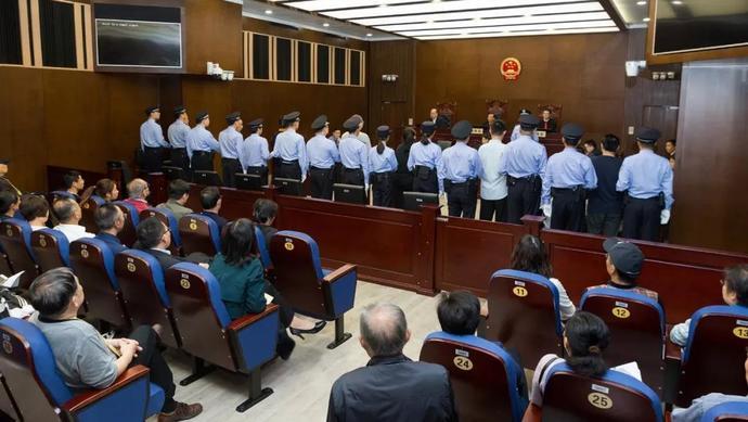 上海一中院一审公开开庭审理盐商