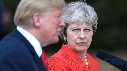 """反转!特朗普暗示 英美或达成""""超级大""""的贸易协议"""