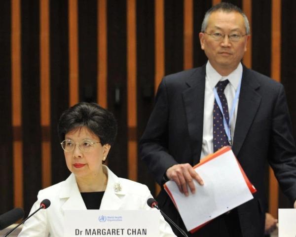 """2009年,世卫组织时任总干事陈冯富珍宣布H1N1""""大流行""""。"""