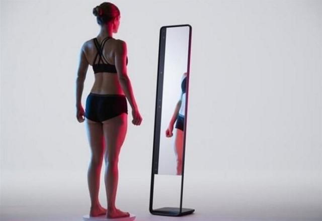 要不要减肥完全分分钟就能看出来的智能镜子