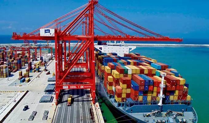 ▲斯里兰卡科伦坡集装箱码头