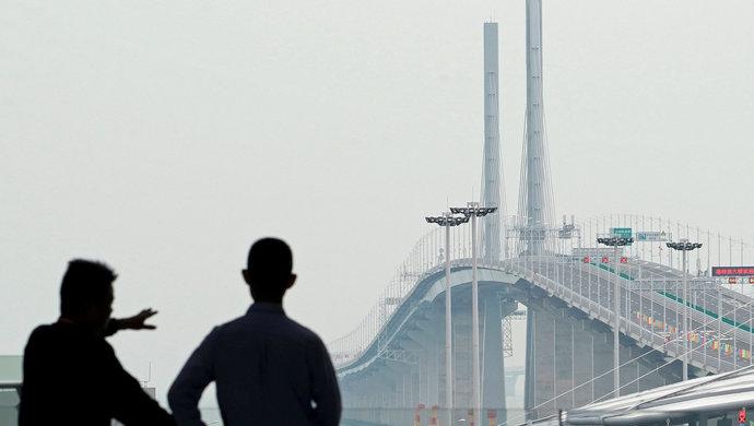 港珠澳大桥总工:中国大工程建造到了可以设定最高目标时代