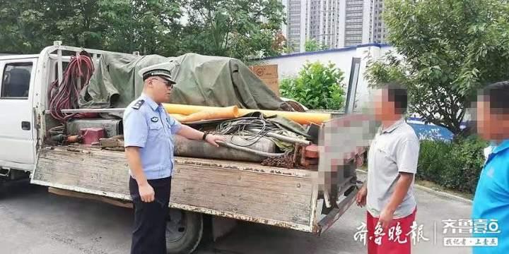 紧抓危化品运输车辆 泰安交警岱岳区大队安全管理不放松