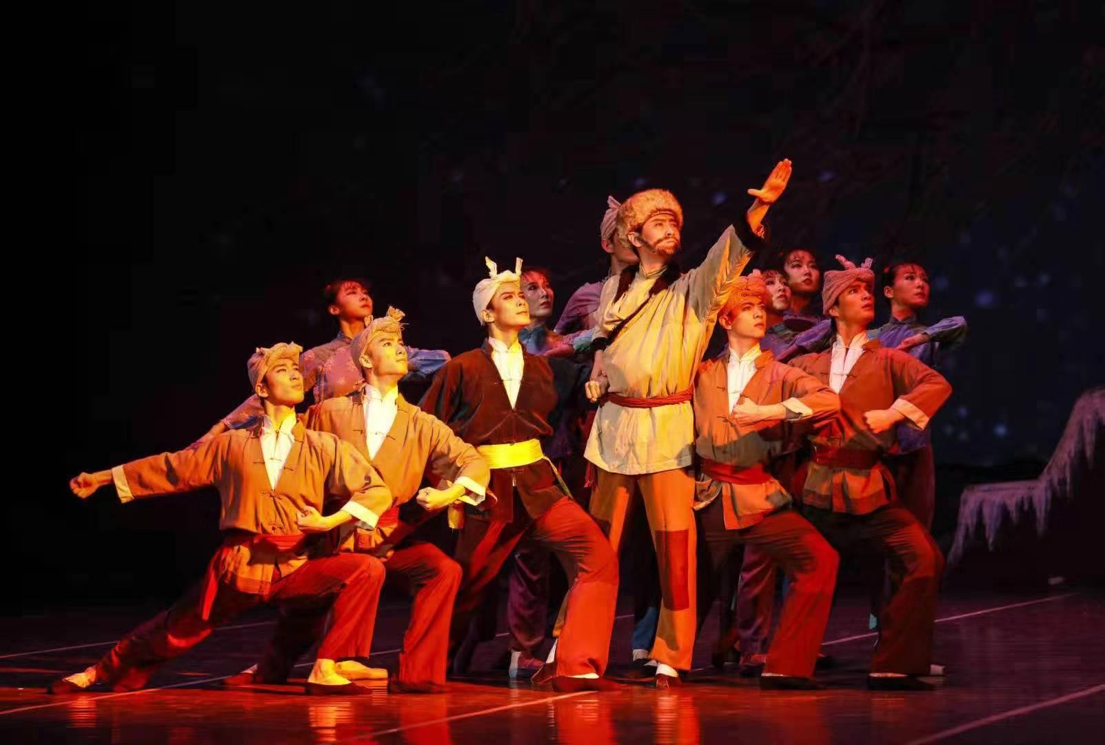 芭蕾舞剧《白毛女》中秋节西安上演 千人共赏国风经典