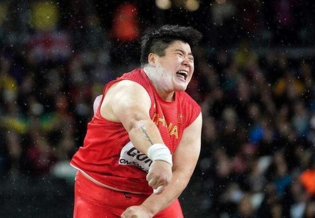 巩立姣女子铅球19米55夺冠 世锦赛卫冕中国再添1金