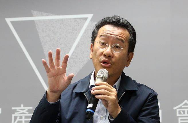 """台当局""""金管会主委""""顾立雄。(图片来源:台湾《中时电子报》)"""
