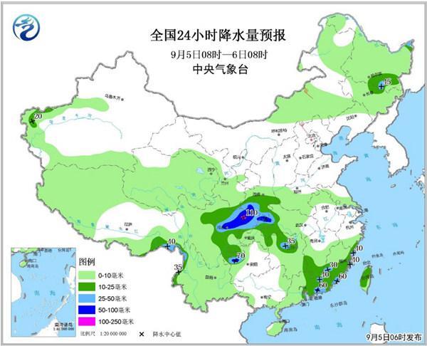 中东部局地降温超10℃ 四川贵州等地有暴雨