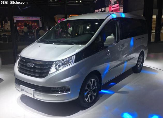 2018广州车展 2019款瑞风M5售13.95万起
