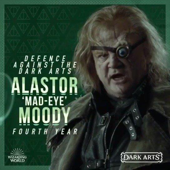 黑魔法之月:穆迪教授今年看起来不太对劲。