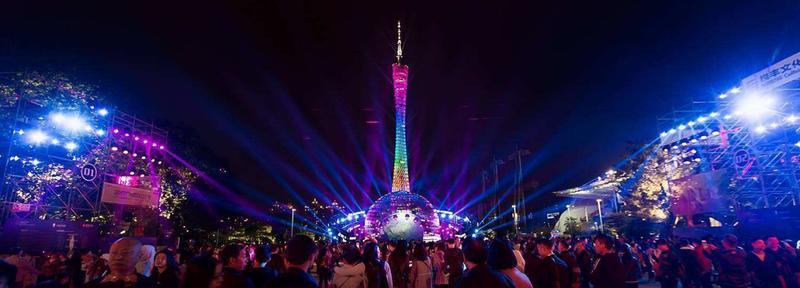 2019广州国际灯光节18日开秀!这个分会场提前剧透了