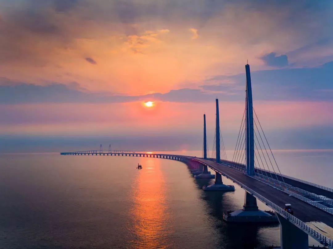 迎七十华诞,陪爸妈看祖国巨变——环港珠澳大桥,深圳图片