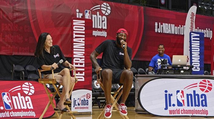 Jr. NBA启动青少年女性篮球扶持计划,鼓励更多女孩参与体育运动
