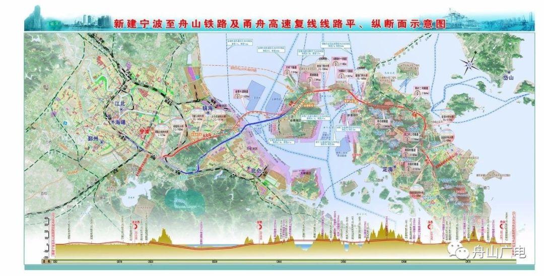 浙江宁波至舟山将建国内首条跨海高铁
