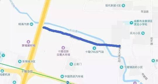 龙泉驿这五条道路即将封闭施工 禁止车辆通行