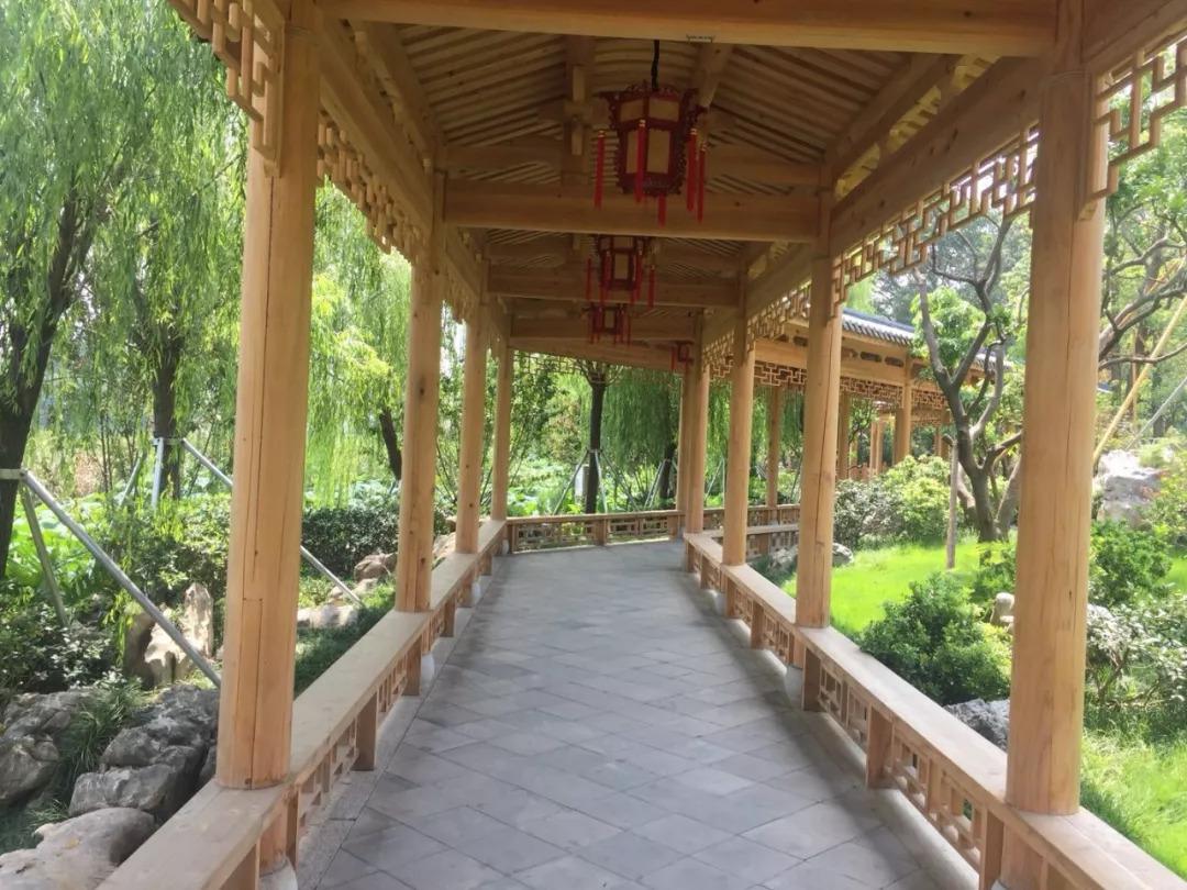 西湖福州西堤春晓字体设计!百米景点、千吨方章长廊开放图片
