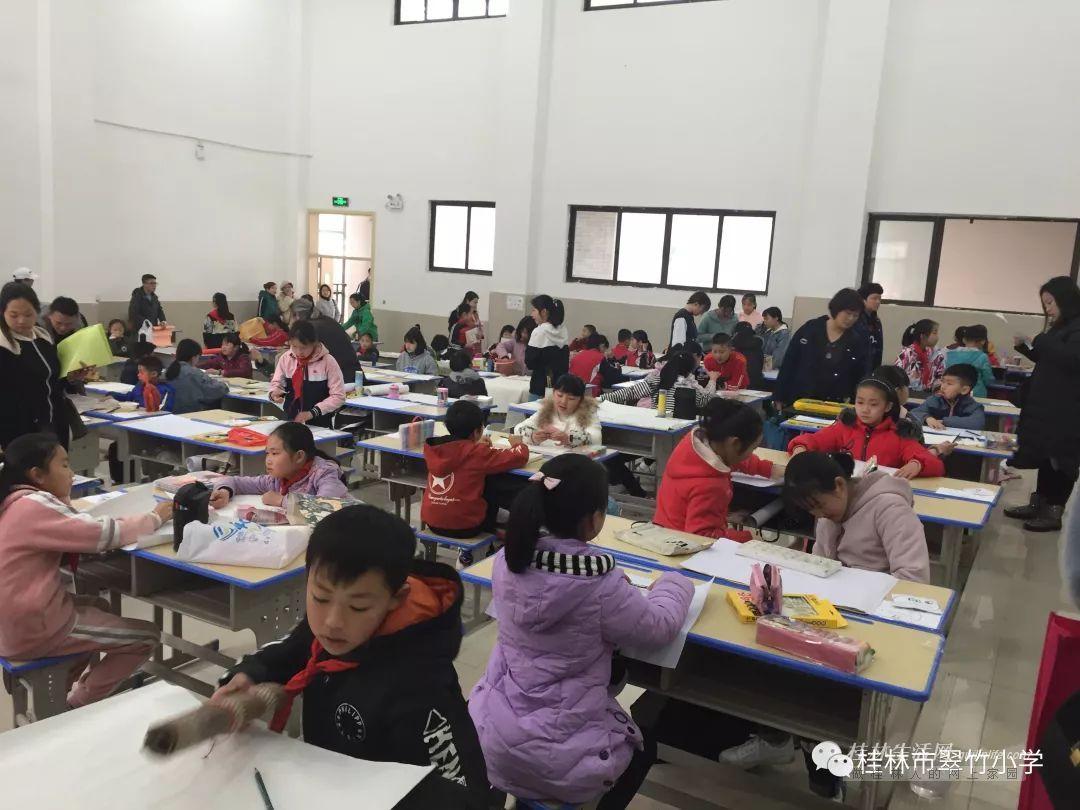 翠竹小学参加象山区校园文化艺术节书画比赛