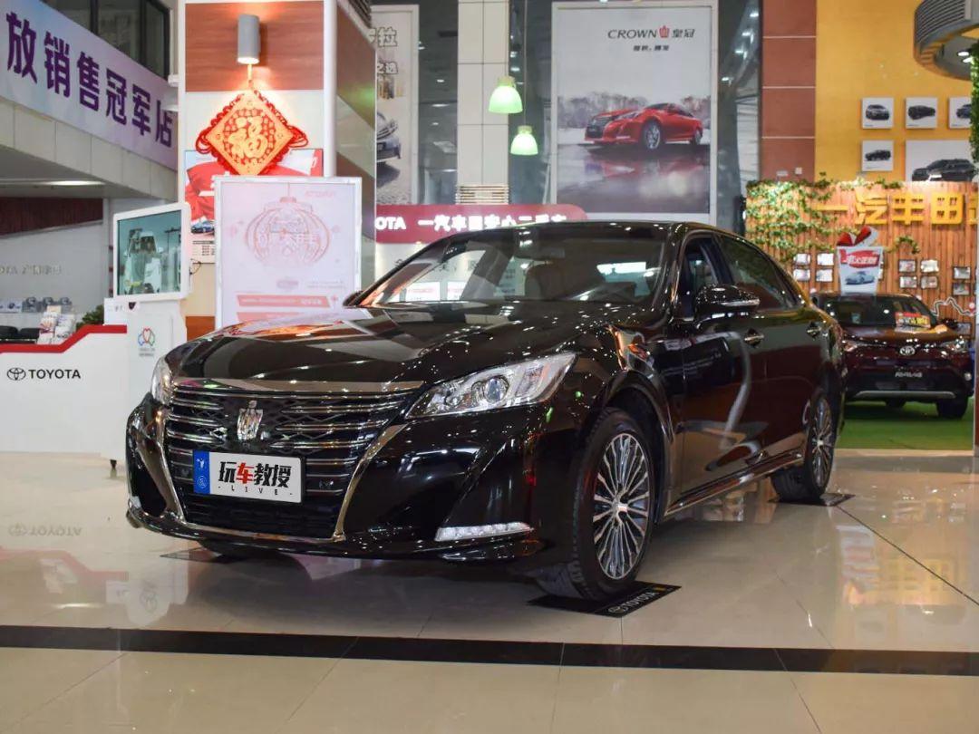 丰田王牌轿车没人买,加多几万也要上BBA?