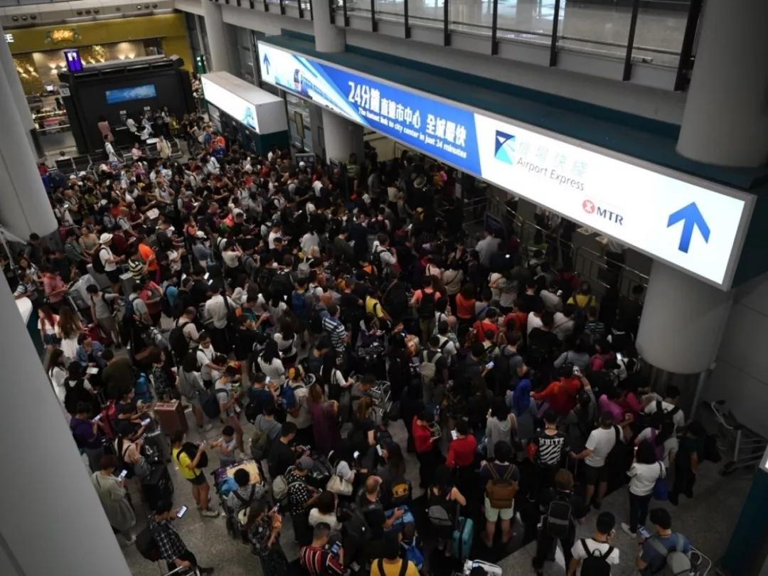 香港特区政府:机场禁制令失效,将采取其他方法