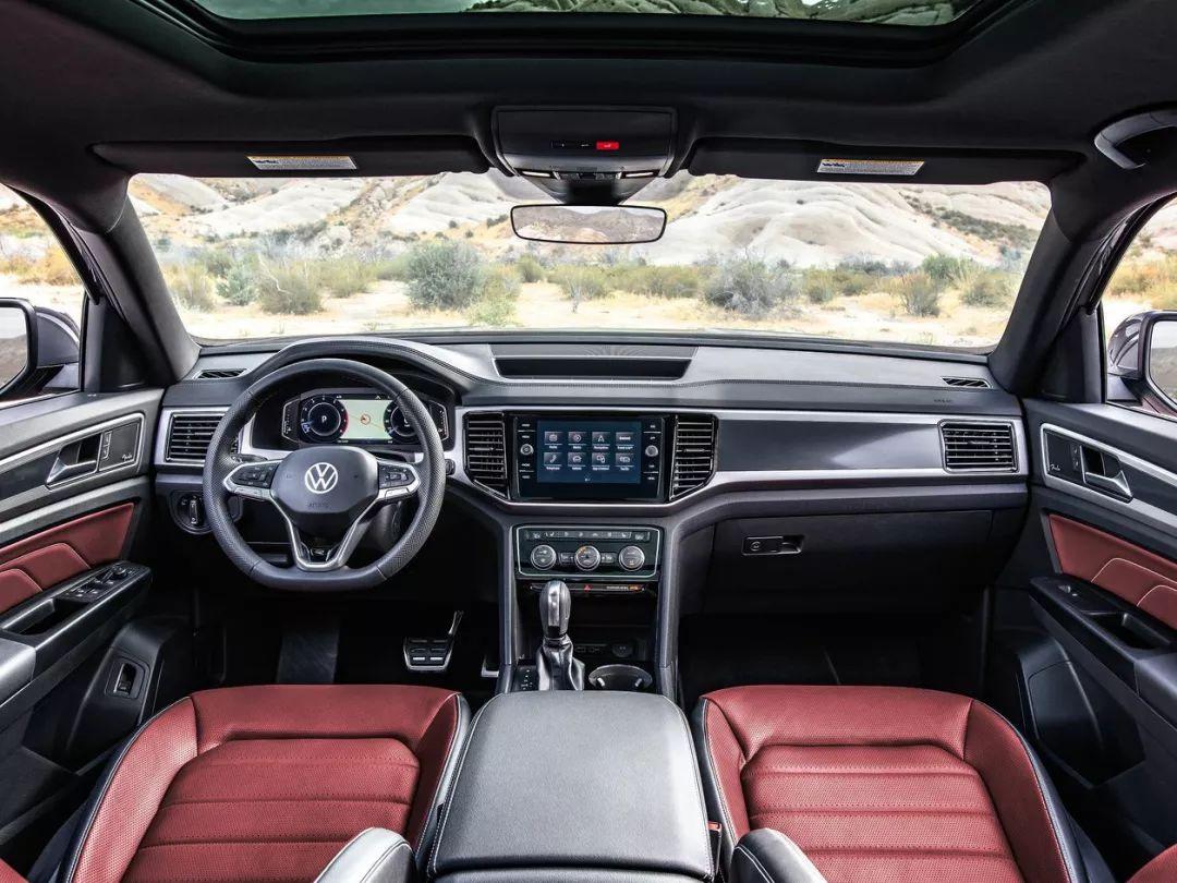 采用全新R-Line LOGO 大众5座轿跑SUV发布