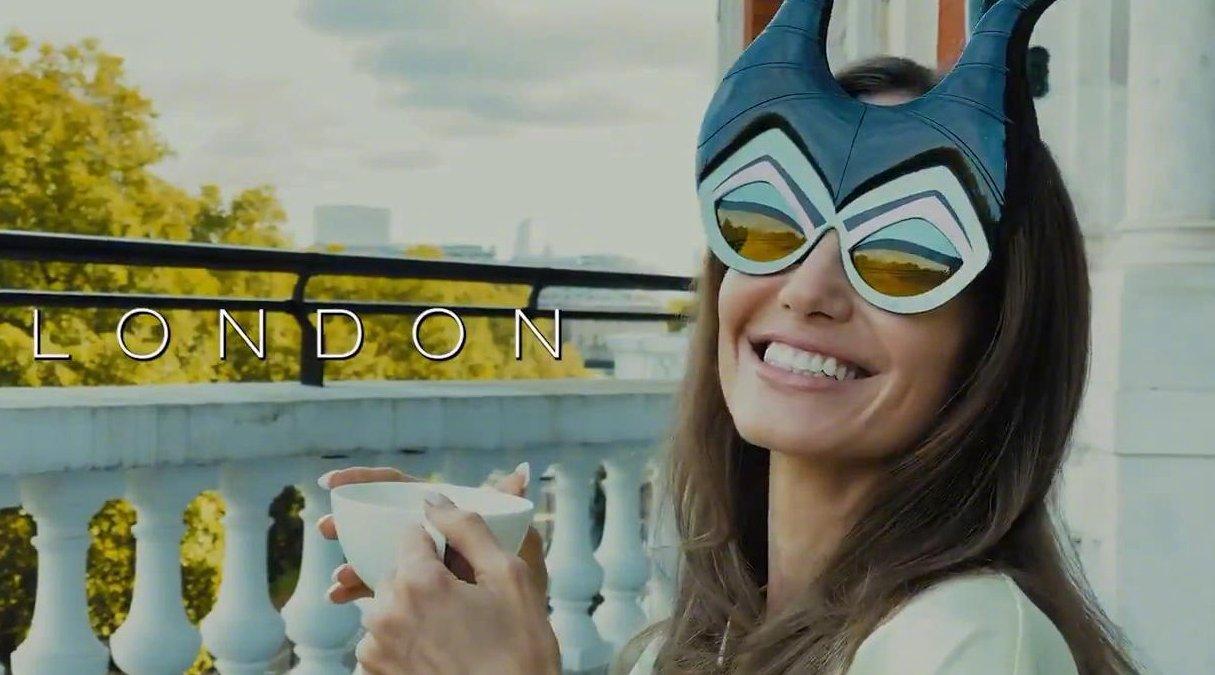 迪士尼分享安吉丽娜·朱莉在罗马和伦敦参加《沉睡魔咒2