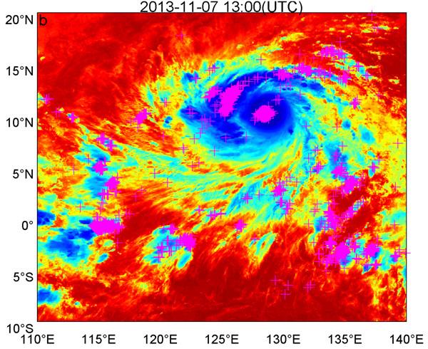 西北太平洋台风中的闪电活动及其与环境因子的关系研究获进展