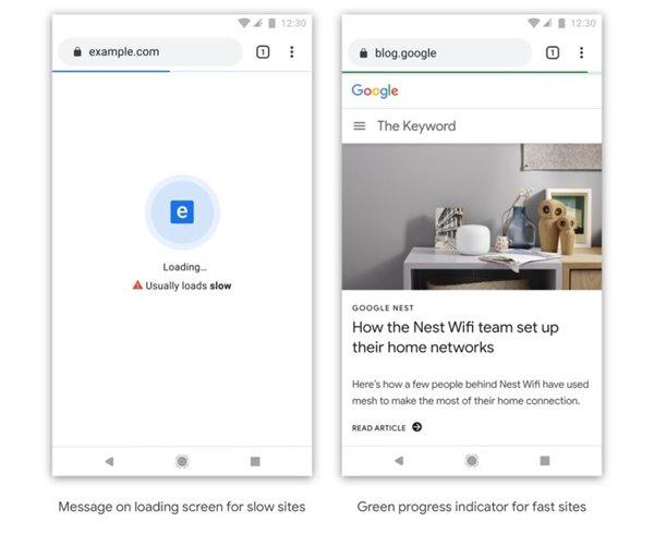 """网站龟速?谷歌Chrome浏览器将对其进行""""羞辱"""""""
