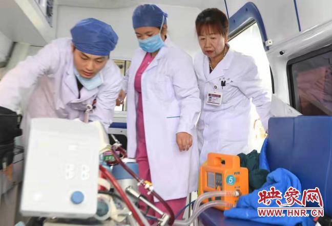 夜路奔袭900里 河南心脏重症军团跨省抢救暴发性心肌炎患者