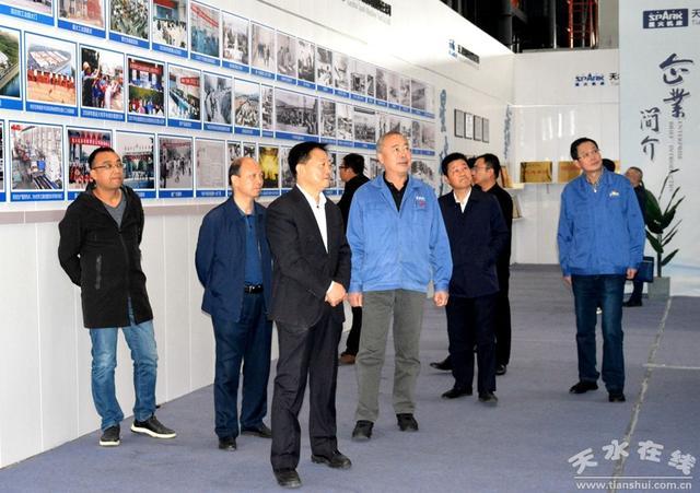 宋建平调研天水市先进制造业和战略性新兴产业发展情况