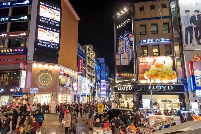 图为韩国街头。(台媒资料图)