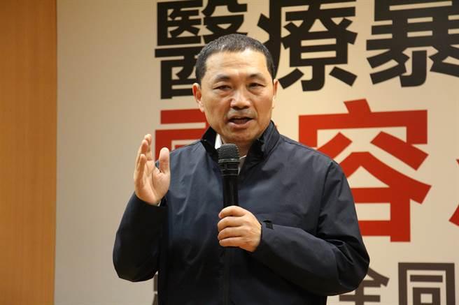 侯友宜。(图片来源:台湾《中时电子报》)
