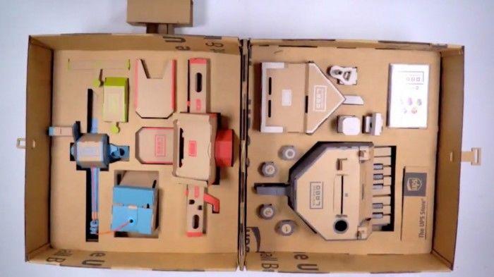 废旧纸箱手工制作钢琴流程