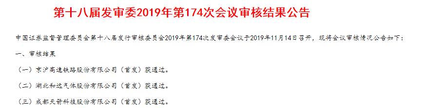 """""""巨无霸""""京沪高铁""""闪电""""过会,证监会关注三大问题"""