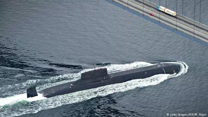 ▲资料图:俄罗斯核潜艇(法新社)