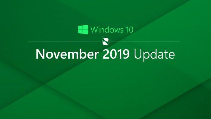 微软公布Windows 10 2019秋季更