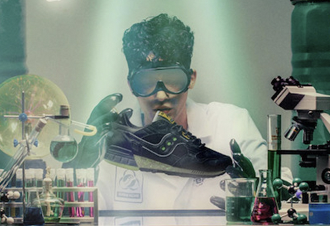 灵感来自 51 区!Feature x Saucony 联名跑鞋即将发售