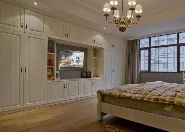 卧室衣柜 电视柜的n种组合,实用又舒心!