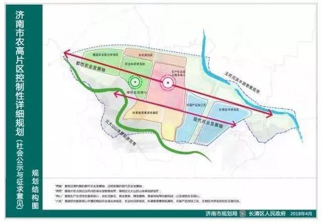 刚刚 济南这六大片区规划出炉 学校 医院 交通等配套资源都定了