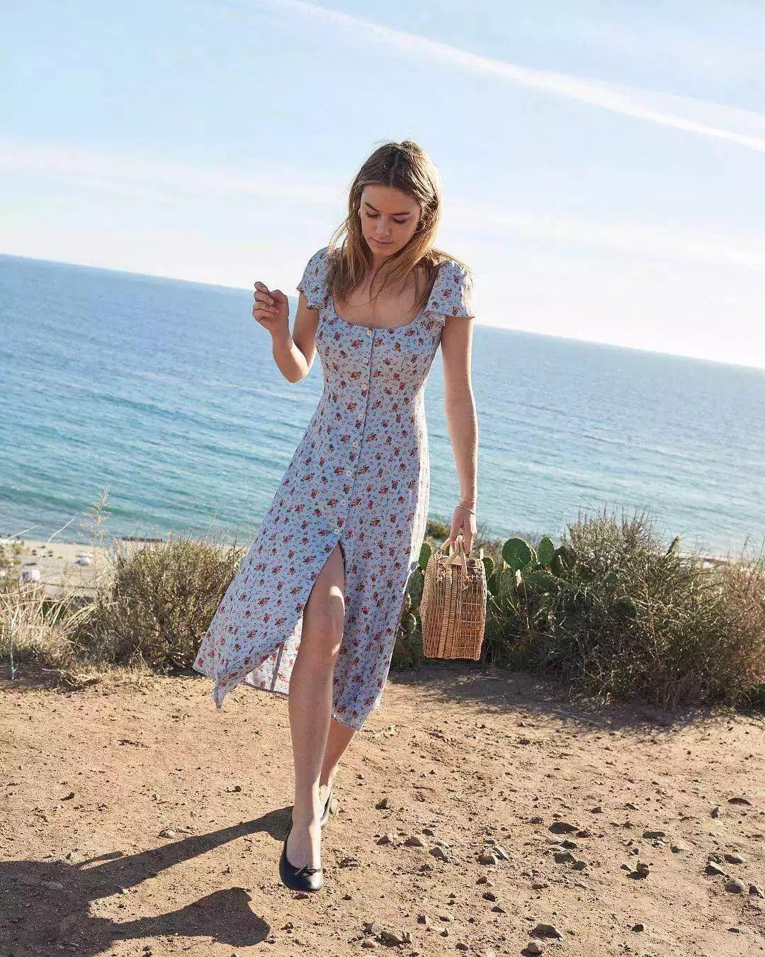不买一条花裙子 怎么惊艳的过夏天