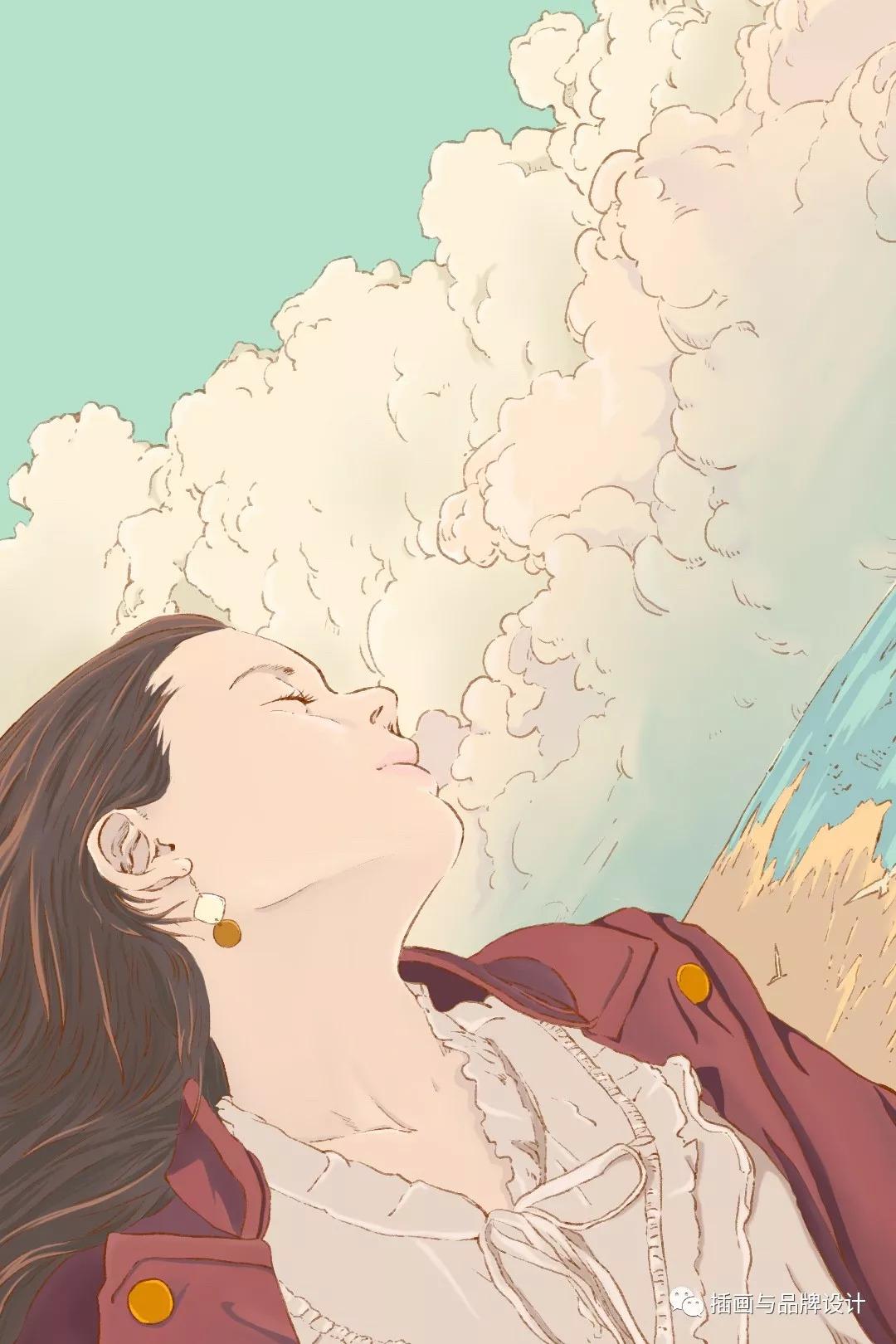 ps手绘板「欧美风」商业插画10节课报名啦!最潮流最流行的板绘技法