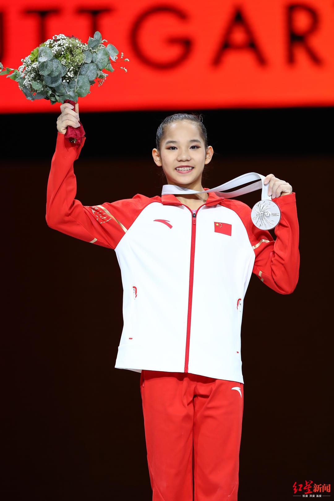 体操世锦赛爆冷!替补小将唐茜靖摘得世锦赛全能银牌