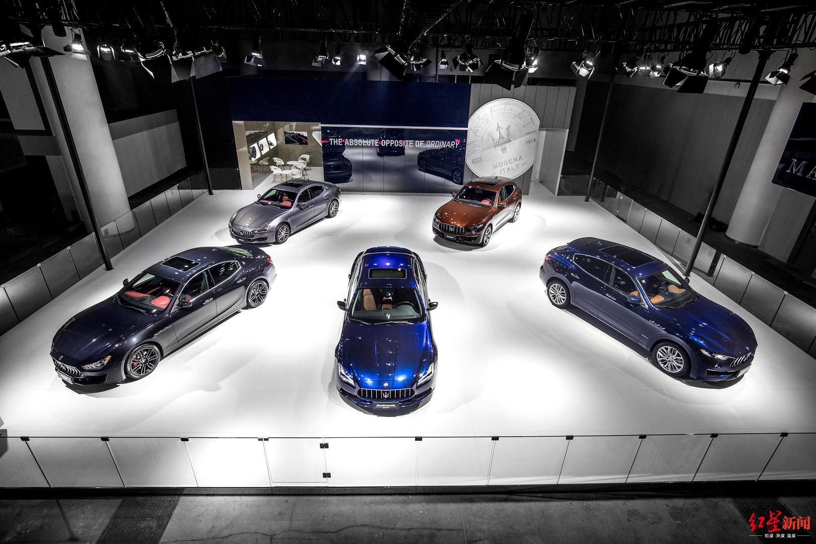 玛莎拉蒂全球限量版车型亮相成都车展