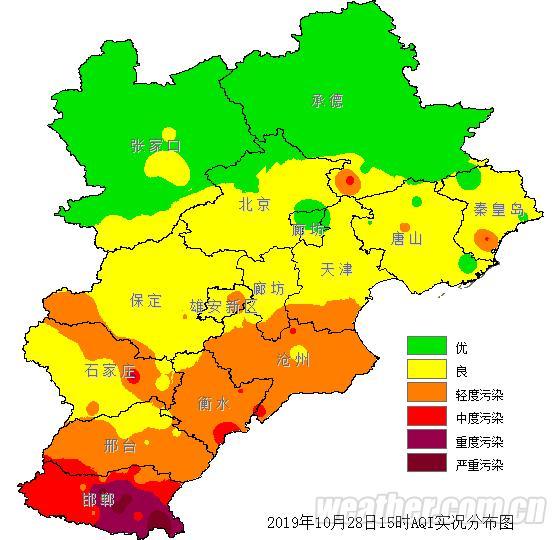 明天全省范围降温 保定沧州廊坊等地有霜冻